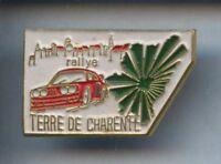 RARE PINS PIN'S  .. AUTO CAR BMW RALLYE / CHARENTE  ¤1D