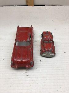 Vintage Diecast Toys Structo Cadillac Dorado Brougham concpt car & Tootsie Truck