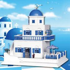 DIY Wooden Dollhouse Miniature Kit Doll house motor home Music box/Voice control