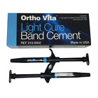 ORTHO VITA KIT Blue CEMENT contains (2 sgy) x 5 gm LIGHT CURE / compomer cements