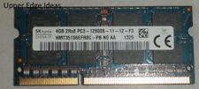 RAM memory 4gb PC3-12800 PC3-12800s DDR3 s0dimm Laptop 1600 mhz