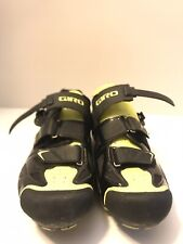 Giro EC70 Road Cycling Shoes Black & Yellow Easton EC70 Carbon Men's EU 46 US 12