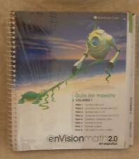 enVision Math 2016 Spanish Kindergarten TE Package Grade K 9780328854073 3 vol