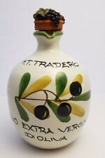 VINTAGE RARE H.T. TRADERS OLIO EXTRA VERGINE DI OLIVA PITCHER WITH STOPPER