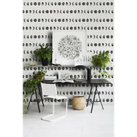 Moon Phases removable wallpaper Geometric wall mural Simple decor self-adhesive