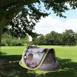 Folding Baby Beach Tent Mini Breathable Zippers Mosquito Net Playhouse Play Tent