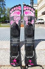 Original 1 used PAIR BIG FOOT Ski Schi Kneissl Tirol Freestyle BIGFOOT Carver