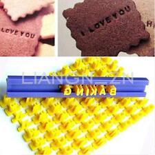 Pastel Alfabeto Molde Letra Número Galleta Cortadores Fondant Tarta Biscuit mold
