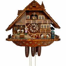 Original German Cuckoo Clock 8-day-movement Chalet-Style 52cm by Anton Schneide