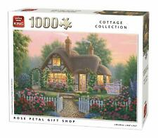 King Jigsaw Puzzle - Cottage Collection Rose Petal Shop, 1000 Piece