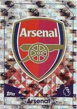 2016 / 2017 EPL Match Attax Base Card (19) ARSENAL Logo