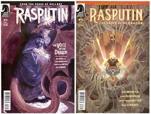 Rasputin> Wholesale Set Of 2: #'s 4B/5B> Dark Horse 2017 - Mignola & Roberson
