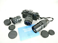 Camera Praktica BMS Electronic Lens Pentacon 35 70 Paragon f 200 mm Teleconvert