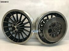 HARLEY DAVIDSON  FLHTC  1982  FRONT AND REAR WHEEL  WITH HUB  LOT64  64C4613