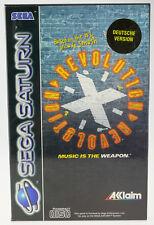 Revolution X | SEGA Saturn SS | komplett in OVP | sehr gut