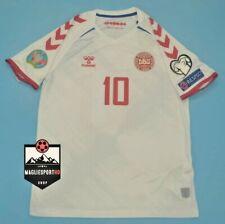 Maglia Danimarca Eriksen EURO 2021 - Calcio Denmark Jersey Soccer Kjaer