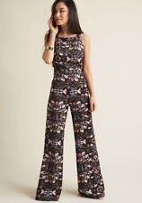 Modcloth Horticulture Chic Jumpsuit XL Bright & Beautiful Juniper Woodland Fever