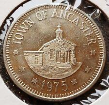 1975 Village of Ancaster Ontario $1 Commemorative Trade Dollar