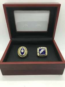 2 Pcs Collectors Rings San Diego Chargers 1963 & 1994 AFC Championship Set