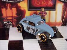 '16 HOT WHEELS VW VOLKSWAGEN CUSTOM BEETLE W/ ROOF RACK LOOSE 1:64 SCALE