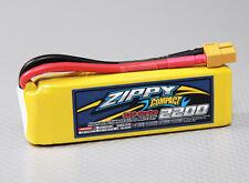 RC ZIPPY Compact 2200mAh 3S 35C Lipo Pack