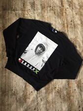 """Snoop Dogg Clothing Pull Sweat Noir ~ Sz Large Fosse à fosse 25"""" ~ par hnm"""