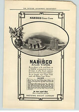 1909 Paper Ad Nabisco Cream Cones Nabisco Sugar Wafers  Standard Sanitary Bath