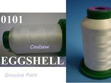 Isacord Machine Embroidery Thread 1000M Off-White / Ivory / Eggshell 0101