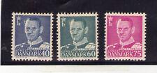 Dinamarca Monarquias valores del año 1948-53 (P-98)