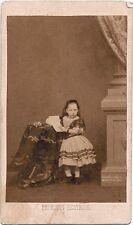 CDV Portrait Princess Beatrice English Royal Family 1860c Mayall London Royalty