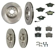VW Golf 02-06 GTI 1.8T Complete Brembo Rotors w/HD Brakes and Ate Pads Brake Kit