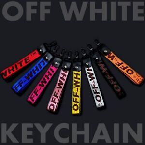 Off White Industrial Belt Keychain Keyring Nylon Strap Lanyard Virgil Abloh