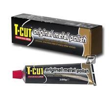 T-Cut Metal Polish - Cleaner/Restorer Chrome Aluminium Stainless Steel - 100g
