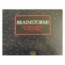 Jeu de société Brainstorm - 10 réponses pour 1 minute de délire! - Parker - Usé