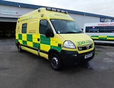 2008 Vauxhall Movano- Ambulance 3500KG, 3900 cdti LWB, Paramedic- Non Runner