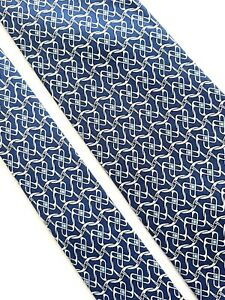 Tie hermes 5525 UA Silk 100% Authentic 100% Made In France.