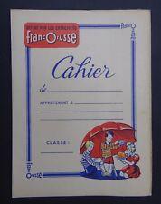 Protège cahier Entremets FRANCORUSSE dessert parasol copybook cover Wachbuch