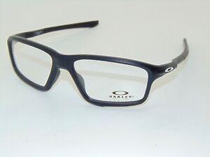 OAKLEY CROSSLINK ZERO OX8076-0756 Satin Black 56mm Rx Eyeglasses