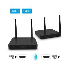 Wireless HDMI Extender / Adapter / Dongle 328 Ft ( HDMI Transmitter + Receiver