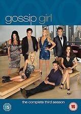 GOSSIP GIRL Complete Series 3 DVD Box Set All Episodes Third Season Original UK