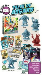 New MARVEL UNITED: TALES OF ASGARD Expansion KICKSTARTER exclusive