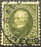 Scott #284 US 15c 1898 Clay Bureau Postage Stamp XF Never Hinged