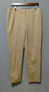 Fabulously Slimming by Chico's - ladies beige cotton spandex pants - 1.5 (10)
