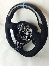 Subaru BRZ / Scion FRS OEM Flat Bottom Thicker Grip Carbon Fiber Steering Wheel