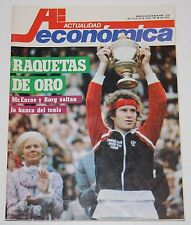 ACTUALIDAD ECONÓMICA #1216 John McEnroe Bjorn Borg Salvador Dali Galicia revista