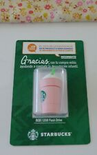 Mexico Starbucks 8 GB Pink Strawberry Frappucino USB Flash Drive USB 2.0