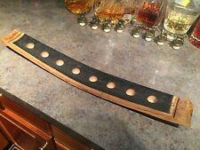 Blanton's Blantons Bourbon STUBBY Barrel Stave Bottle Cork Stopper Display Wood