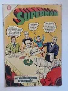 SUPERMAN #494 - ORIGINAL COMIC IN SPANISH - MEXICO - NOVARO