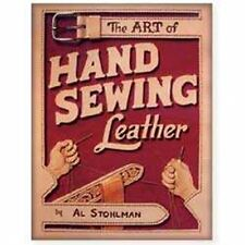 The Art Of Hand Sewing Leather Book Tandy Leather 61944-00 Free Ship