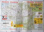 Ancienne carte de Belgique Charlet